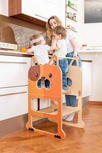 Torre montessori convertible en pupitre ToddlerInFamily