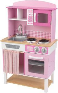 cocina de juguete rosa KidKraft