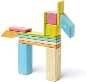 bloques de madera magneticos tegu multicolor