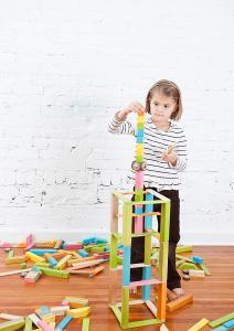 bloques de madera magneticos